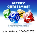 vector colorful greeting card... | Shutterstock .eps vector #2043662873