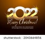 vector luxury greeting card... | Shutterstock .eps vector #2043664856