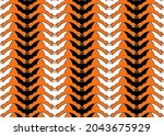 halloween seamless pattern...   Shutterstock .eps vector #2043675929