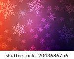 light pink  red vector backdrop ... | Shutterstock .eps vector #2043686756