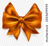 beautiful big bow made of... | Shutterstock .eps vector #2043699959