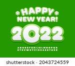 vector modern greeting card... | Shutterstock .eps vector #2043724559