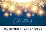 fireworks shining background.... | Shutterstock .eps vector #2043770693