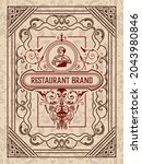 western card with vintage style   Shutterstock .eps vector #2043980846