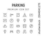 premium pack of parking line...