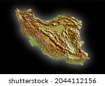 iran map  map of iran isolated...   Shutterstock . vector #2044112156