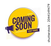 coming soon teaser promo...   Shutterstock .eps vector #2044149479