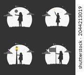 illustration vector graphic of... | Shutterstock .eps vector #2044213019