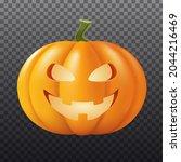 halloween pumpkin vector... | Shutterstock .eps vector #2044216469