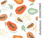 contemporary abstract...   Shutterstock .eps vector #2044259849
