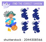 find the correct shadow. happy... | Shutterstock .eps vector #2044308566