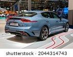 Kia Stinger Gt Sports Car Model ...