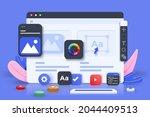 web ui ux design  web...