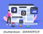 online marketing  financial...