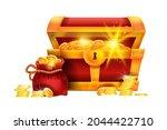 golden treasure chest...