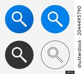search icon or magnifying glass ...