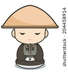 abbot,ancient,artwork,ascetic,asia,baby,boy,buddha,buddhism,buddhist,cartoon,character,chinese,circle,clergyman