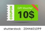 10  coupon promotion sale for... | Shutterstock .eps vector #2044601099