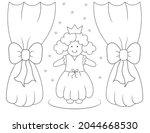 Cute Little Girl In Princess...