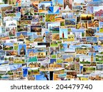 collection images used as a... | Shutterstock . vector #204479740