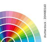 colour card | Shutterstock . vector #204480160