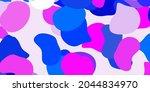 light pink  blue vector... | Shutterstock .eps vector #2044834970
