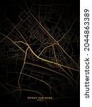 Pinay Sur Seine  France Map    ...