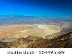 salt badwater basin panamint... | Shutterstock . vector #204495589