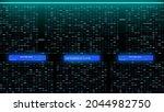 digital decimal big data number ...