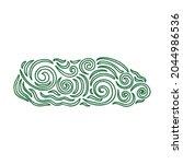 nature decorative element.... | Shutterstock .eps vector #2044986536