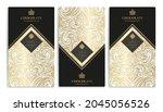luxury packaging design of... | Shutterstock .eps vector #2045056526