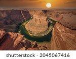Grand Canyon  Usa. Colorado...