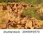 Fantastic Landscape Of Lalu Or...