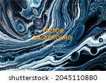 fluid art texture. abstract... | Shutterstock .eps vector #2045110880