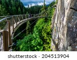 Beautiful Capilano Cliff Walk...