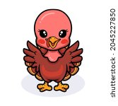 Cute Baby Turkey Cartoon...