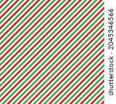 Red And Green Seamless Pattern...