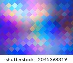 Iridescent Colorful Weave...