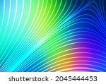 light blue  green vector...   Shutterstock .eps vector #2045444453