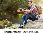 Handsome Young Photographer...