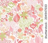 seamless pattern  | Shutterstock .eps vector #204547033