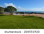 Wild Landscape Of Cable Bay In...