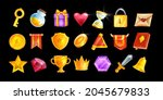 ui game icon set  vector casino ...