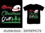 christmas typography vector t...   Shutterstock .eps vector #2045694176