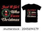 christmas typography vector t...   Shutterstock .eps vector #2045694179