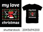 christmas typography vector t...   Shutterstock .eps vector #2045694203