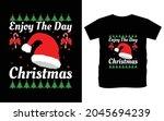 christmas typography vector t...   Shutterstock .eps vector #2045694239