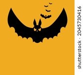 halloween party invitations or...   Shutterstock .eps vector #2045730416