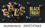 black friday sale background...   Shutterstock .eps vector #2045747663