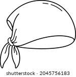 multifunctional head bandana....   Shutterstock .eps vector #2045756183